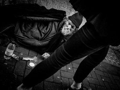 Homeless, Tottenham Court Road
